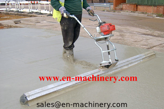 China Walk Behind Concrete Surface Finishing Screed Construction Machinery supplier