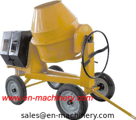China Electric One Phase Mini Concrete Mixer 280L Diesel Mini Concrete Mixer For Sale supplier