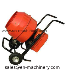 China Building Construction Tools & Machines Epoxy Coated Steel Mini Concrete Mixer 120L supplier