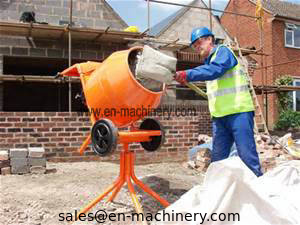 China Concrete Machine Alibaba Trading Assurance Mini Concrete Mixer Garden Tools supplier