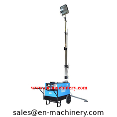 China Construction Machinery Portable Light Tools Led Light Tower Machine supplier