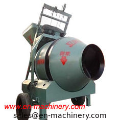 China JZC350 Small Chinese Portable Mobile Type Concrete Mixer With Pump supplier
