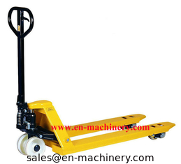 China Supermarket Cargo Trolley Hand Pallet Truck and High Lift Pallet Truck supplier