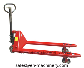 China Construction Machinery for Hand Pallet Trucks with Hand Forklift supplier