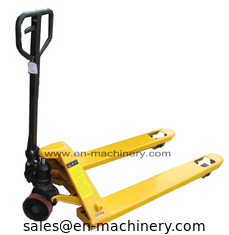 China Heavy Duty Hydraulic Hand Pallet Truck with Fork Hydraulic Hand Pallet Truck supplier