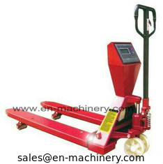 China Durable and Easy to use Folding Hand Pallet Truck for Sale for Warehouse use supplier