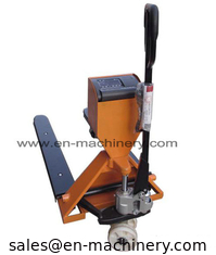 China Weight Scales with Trolley Type 3ton Hydraulic Hand Pallet Truck supplier