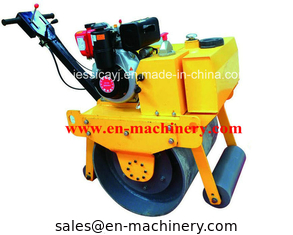 China Walk Behind Construction Machinery Single Drum Road Roller Of Concrete Tools supplier