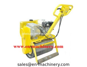 China Hydraulic Turning Single Drum Walk Behind Roller Road Roller with Samll Road Roller supplier