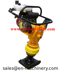 China Plate Compactor Handheld Super Quality Light Weight Tamping Rammer with Honda Engine supplier