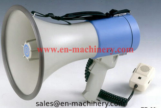 China 12V Megaphone with Microphone Horn Custom Logo Printed Promotional Silicone Megaphone supplier