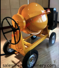 China Mobile Concrete Mixer Machine 350L Small Gasoline Diesel Seft-Load Concrete Mixer supplier