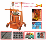 China Brick Making Machine Manufacturer 2-45 Used Block Making Machine from China Factory factory
