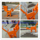 China China Supplier Manual Compressed Earth Brick Machinery Machine 1-40 For Construction Machinery factory