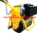 China Small Mini Single Vibratory Roller for Concrete Road Machine Road Roller company