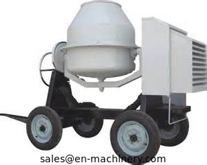 China Electric engine small sell loading portable concrete mixer truck in stock factory