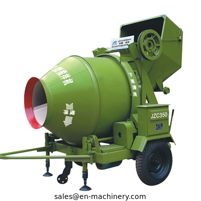 China Concrete mixer with Hydraulic type diesel engine in stock JZC350B distributor