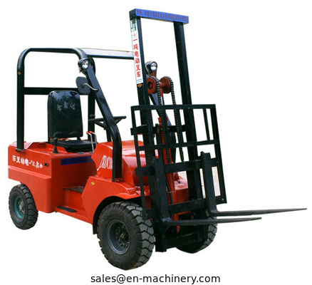 China Economic Electric Stacker with Adjustable Wide with Leg Battery Powered Forklift distributor