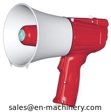 China Police Megaphone and Small megaphone Amplifier speaker megaphone Waistband megaphone distributor