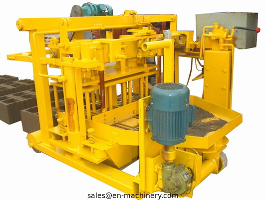 China Machine For Concrete Block 40-3 Movable Hollow Block Making Equipment From China distributor