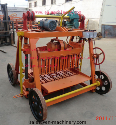 China Famous brand 4-45 Egglaying Cement Block Making Machine for hot sale in the world distributor