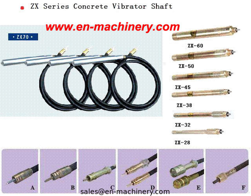 China SPARE PARTS FOR POWER TOOLS SHAFT FOR CONCRETE VIBRATOR SHAFT BUTTERFLY factory