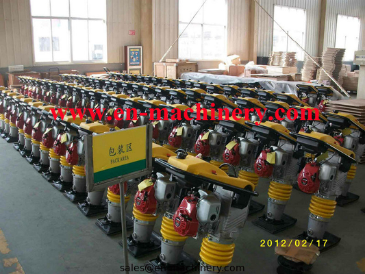 China Gasoline honda power earth sand soil wacker impact jumping jack multiply compactor tamper distributor