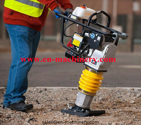 China Gasoline honda power earth sand soil wacker impact jumping jack multiply compactor tamper vibrating tamping rammer distributor