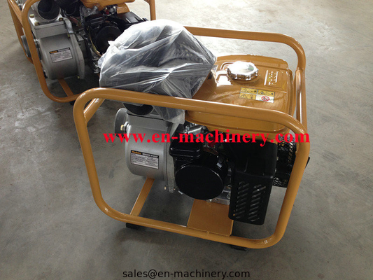 China 3 inch self-priming gasoline water pump with 5hp robin EY20 manufacturer distributor