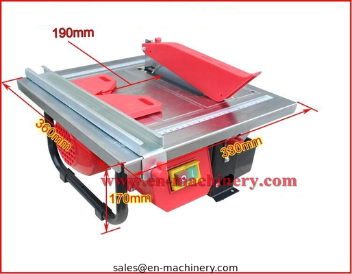 China 600W 180mm mini electric tile cutter/tile cutting machine for 45 degree,tile saw,stone saw, brick saw distributor