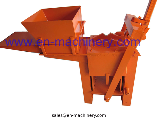 China Block Making Machine Manual Hand Soil Pressing Interlocking Clay 2-40 Machine distributor