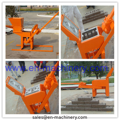 China China Supplier Manual Compressed Earth Brick Machinery Machine 1-40 For Construction Machinery distributor