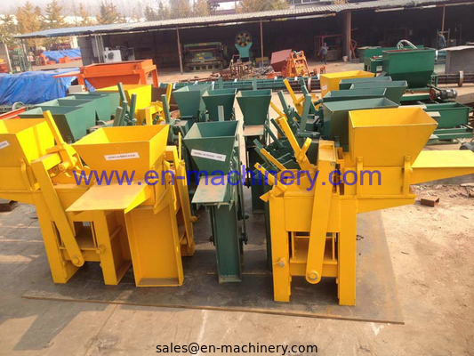 China Interlocking Block Making Machine 1-40 Clay/Soil Brick Machine for Construction Machinery distributor