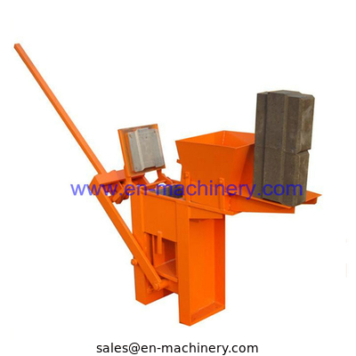 China Small Scale Manual Block Making Machine,1-40 Used Brick Making Machine for sale distributor