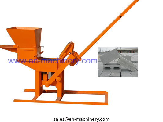 China Product To Import To South Africa 1-40 Manual Clay Interlocking Brick Making Machine distributor