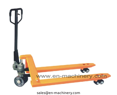 China China Hydraulic Hand Pallet Trucks with Jack/Material Handling Tools distributor