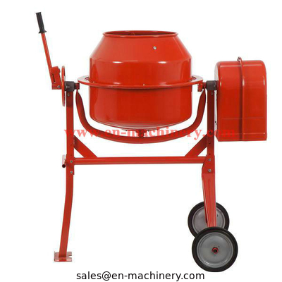 China Construction Machinery Garden Mini Concrete Mixer with Electric Motor factory