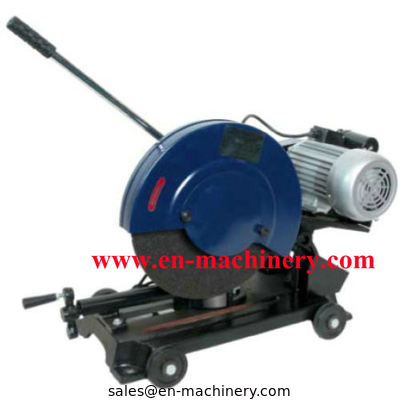 China Powerful Electric Portable Steel Cut off Saw and Cutting Machine distributor
