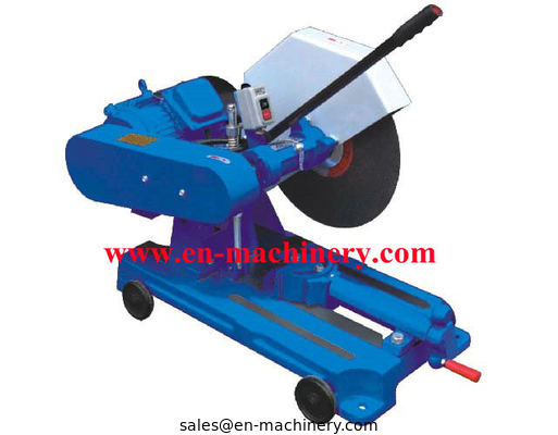 China Metel Tool For Metal Scrap Reprocessing Semi Automatic Electro Cut Off Saw distributor