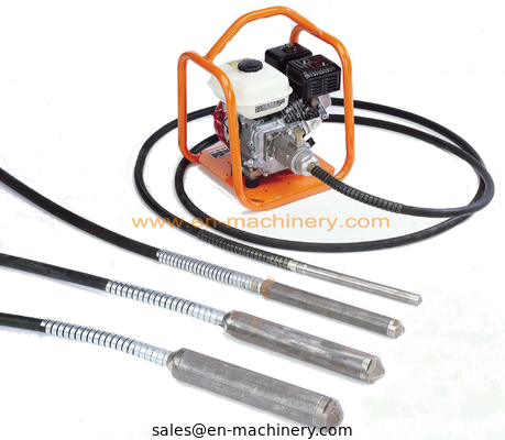 China Construction Machinery Concrete Vibrator with Concrete Vibrator Shaft distributor