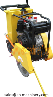 China Portable Gasoline Concrete Cutter With Gasoline Engine Concrete Tools factory