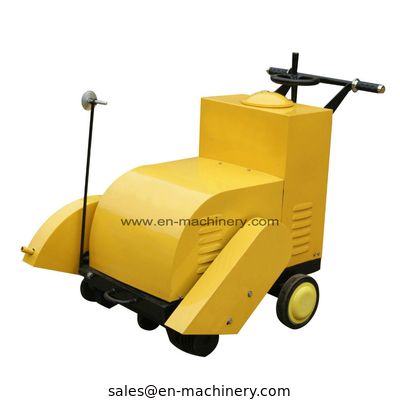 China Construction Machinery Petrol Concrete Pavement Cutter Manual Push Portable Concrete factory