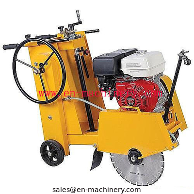 China Asphalt Road Cutter Road Machine with Diesel Engine Saw Machine distributor