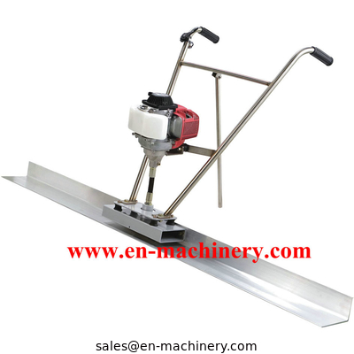 China Concrete Hand Screed and Vibrating Screed with 1m-4M length Blade distributor