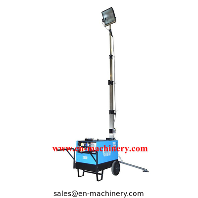 China Construction Machinery Portable Light Tools Led Light Tower Machine distributor