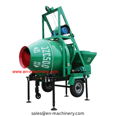 China Hydraulic Concrete Mixer Concrete Mixing Machine Cement Mixing Equipment factory