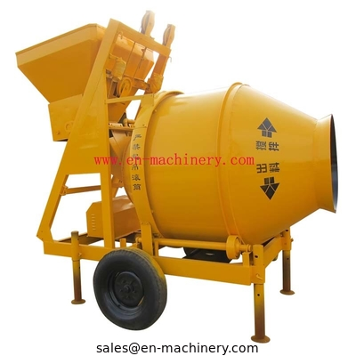 China China gasoline diesel 350L concrete mixer for sale with 10-14m3/h productivity (JZC350) distributor