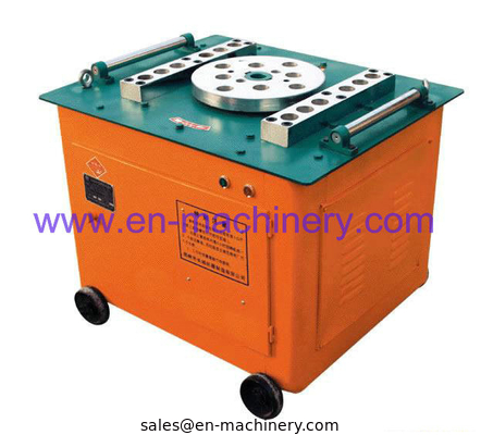 China GW40 Steel Bar Cutters and Benders Manual Rebar Bender and Cutter with Electric Motor distributor