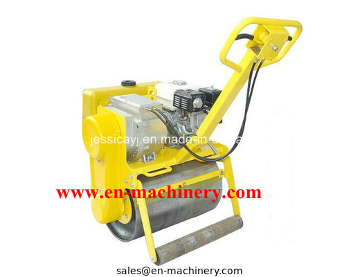 China Hydraulic Turning Single Drum Walk Behind Roller Road Roller with Samll Road Roller distributor