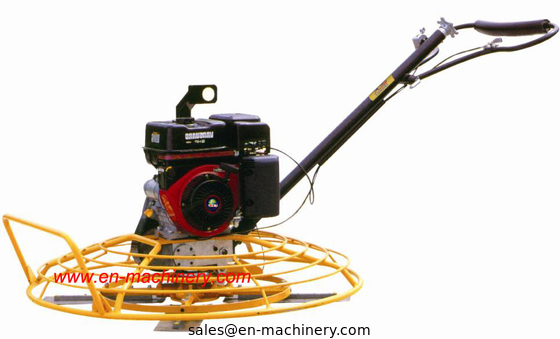 China 1m Concrete Road Power Trowel Construction machine with New Stop Switch Handle distributor